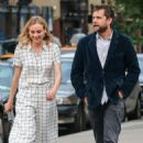 Actress Diane Kruger and Joshua Jackson spotted out for an evening stroll in New York City, New York on June 8, 2015 - 454 x 527