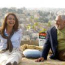 Rana Sultan as Nour with Nadim Sawalha as Abu Raed in NeoClassics Films' Captain Abu Raed. - 454 x 301