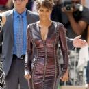 Halle Berry At The Late Show With David Letterman In New York City