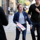 "Zoey Deutch – ""Set It Up""Movie Set in Soho in New York City 05/16/2017 - 454 x 681"