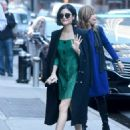 Lucy Hale at the Good Morning America Studios in NYC