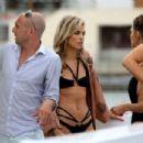Annalynne McCord in Black Bikini in Los Angeles - 454 x 303