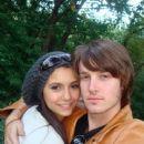 Nina Dobrev and Evan Williams