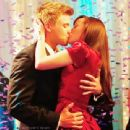 Ashley Rickards and Brett Davern