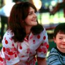 Drew Barrymore as Beverly Donofrio and Cody Arens as her son Jason in Columbia's Riding in Cars with Boys - 2001 - 400 x 275