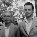 Stephen Sondheim and Father - 454 x 278