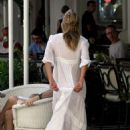 Kate Moss Having Breakfast In Brazil - February 14, 2011