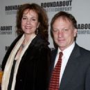 Margaret Colin and Justin Deas