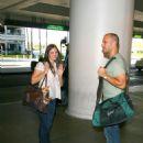 Katharine McPhee - Aug 19 2008 - Candids At LAX