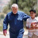 Nadim Sawalha as Abu Raed and Udey Al-Qiddissi as Tareq in NeoClassics Films' Captain Abu Raed. - 454 x 302