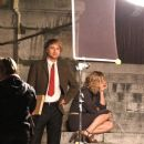Owen Wilson and Rachel McAdams on the set Woody Allen's new film, Midnight in Paris (July 29th 2010).
