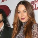 Nikki Sixx and Courtney Bingham arrive at the special screening of