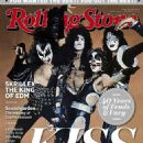 Gene Simmons, Paul Stanley, Ace Frehley, Peter Criss - Rolling Stone Magazine Cover [Australia] (June 2014)