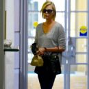Charlize Theron – Leaving the doctors office in Beverly Hills - 454 x 681