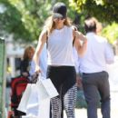 Stacy Keibler is spotted out shopping in West Hollywood, California on March 27, 2017 - 413 x 600