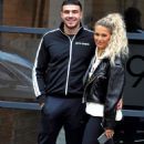 Molly Mae with Boyfriend Tommy Fury out in Manchester - 454 x 738