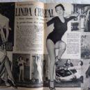 Linda Cristal - Festival Magazine Pictorial [France] (18 October 1960) - 454 x 317