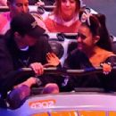 Ariana Grande and her Fiance Pete Davidson at Disneyland