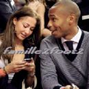Thierry Henry and Andrea Unknown - 454 x 317