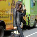 Adriana Lima – Leaving SiriusXM studios in New York City - 454 x 681