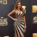 Farrah Abraham attends the 2016 MTV Movie Awards at Warner Bros. Studios on April 9, 2016 in Burbank, California - 409 x 600