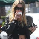 Ashley Benson – Stops at Starbucks in West Hollywood