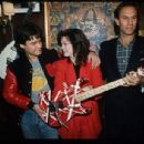 Valerie Bertinelli and Eddie Van Halen - 454 x 306