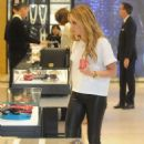 Ashley Tisdale Shopping Candids In Beverly Hills