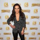 Superstar Kate del Castillo Announces Landmark Deal With Global MMA Brand Combate Americas At Press Conference In Los Angeles - 400 x 600