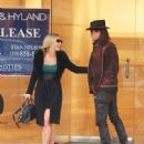 Nikki Lund and Richie Sambora check out their new flagship store 'Nikki Rich' opening in March 15 in Beverly Hill, CA on February 2, 2015 - 449 x 600