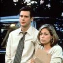 Jim Carrey and Maura Tierney