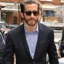 "Jake Gyllenhaal promoting ""Prisoners' at BBC Radio 2 studios in London (September 23)"