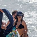 Salma Hayek Bikini Candids At A Beach In Hawaii