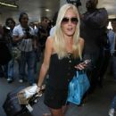 Heidi Montag Arriving At LAX 2008-04-11