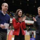 Prince William, Duchess Catherine and Harry visited London Marathon Day - 454 x 284