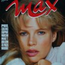 Kim Basinger - Max Magazine Cover [France] (April 1990)