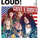 Guns N' Roses - Loud Magazine Cover [Portugal] (August 2012)
