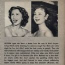 Mitzi Gaynor - Movie Life Magazine Pictorial [United States] (October 1954) - 454 x 1283