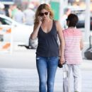 Emily VanCamp in Jeans out in New York City - August 23, 2016 - 454 x 652