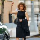 Jennifer Lopez – On the set of 'Shades of Blue' in New York - 454 x 646