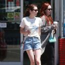 Emma Roberts in Shorts – Out in Los Feliz