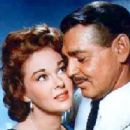 Clark Gable and Susan Hayward