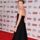 Scarlett Johansson Avengers Age Of Ultron Premiere In Hollywood