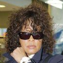 Whitney Houston Hightails It Out of Heathrow