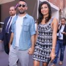 Rosario Dawson And Mathieu Schreyer At MFW