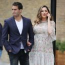 Kelly Brook and Jeremy Parisi out in London - 454 x 489