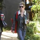 Ashley Tisdale: Shopping at Free People before heading to an office building in Studio City