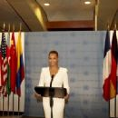Beyonce performing at the United Nations for World Humanitarian Day (August 10)