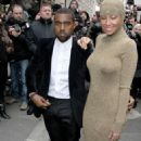 Kanye West And Amber Rose Pump The Brakes