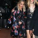 Rita Ora is spotted out with a friend in New York New York on April 30, 2016